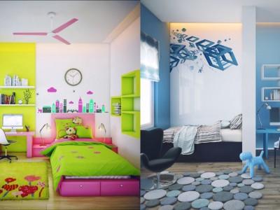 Cum sa decorezi camera copilului. Sfaturi practice si idei