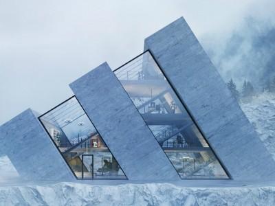 Aceste case sunt proiectate sub forma unor logo-uri celebre
