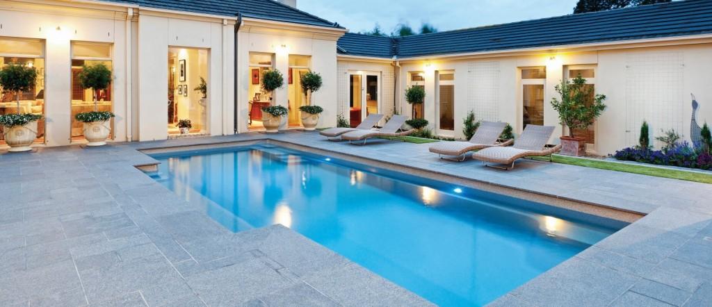 Modele de piscina de lux