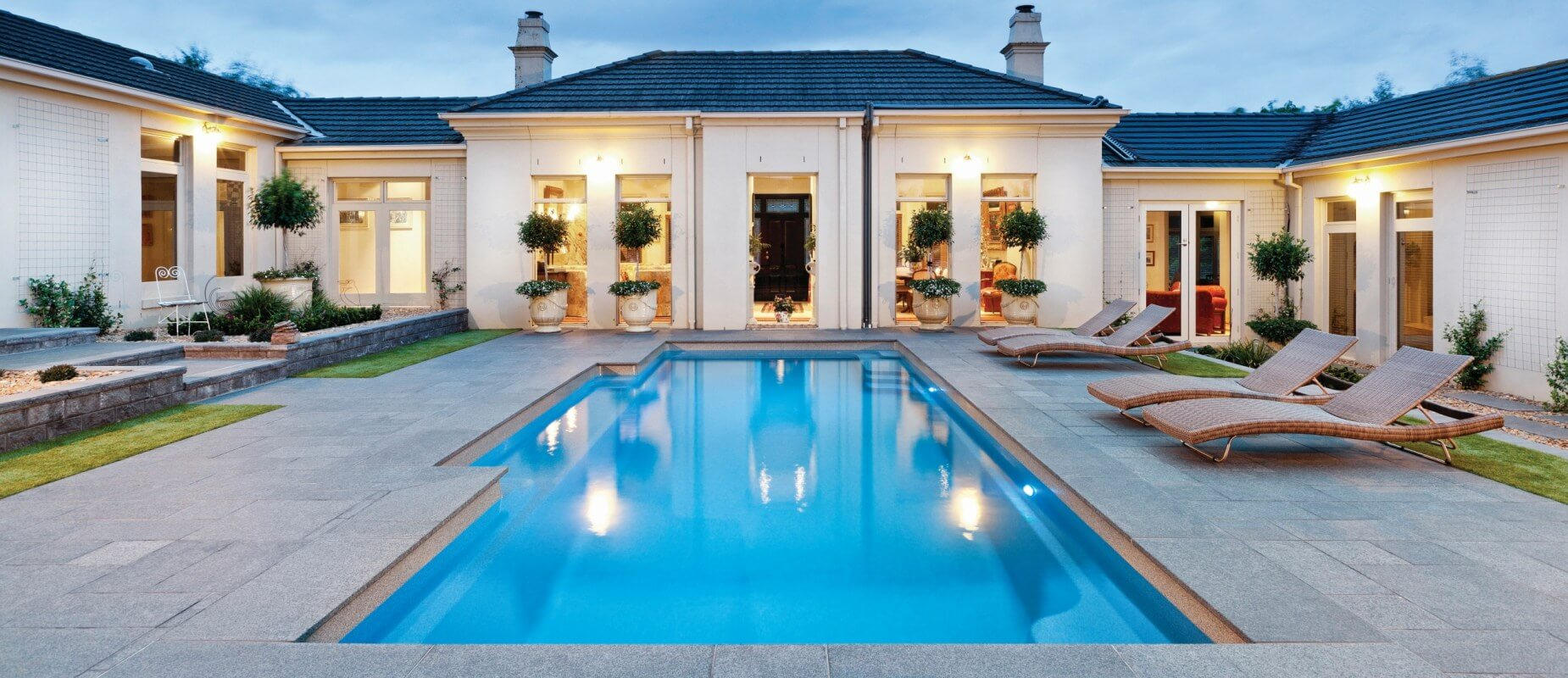 piscina de lux modele frumoase 0