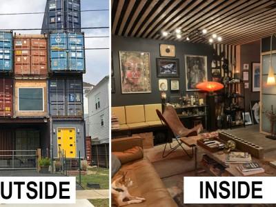 Casa de vis cu ajutorul containerelor metalice
