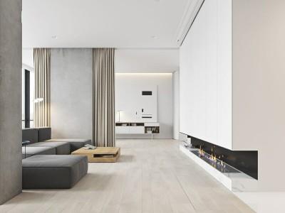 Design modern de casa minimalista